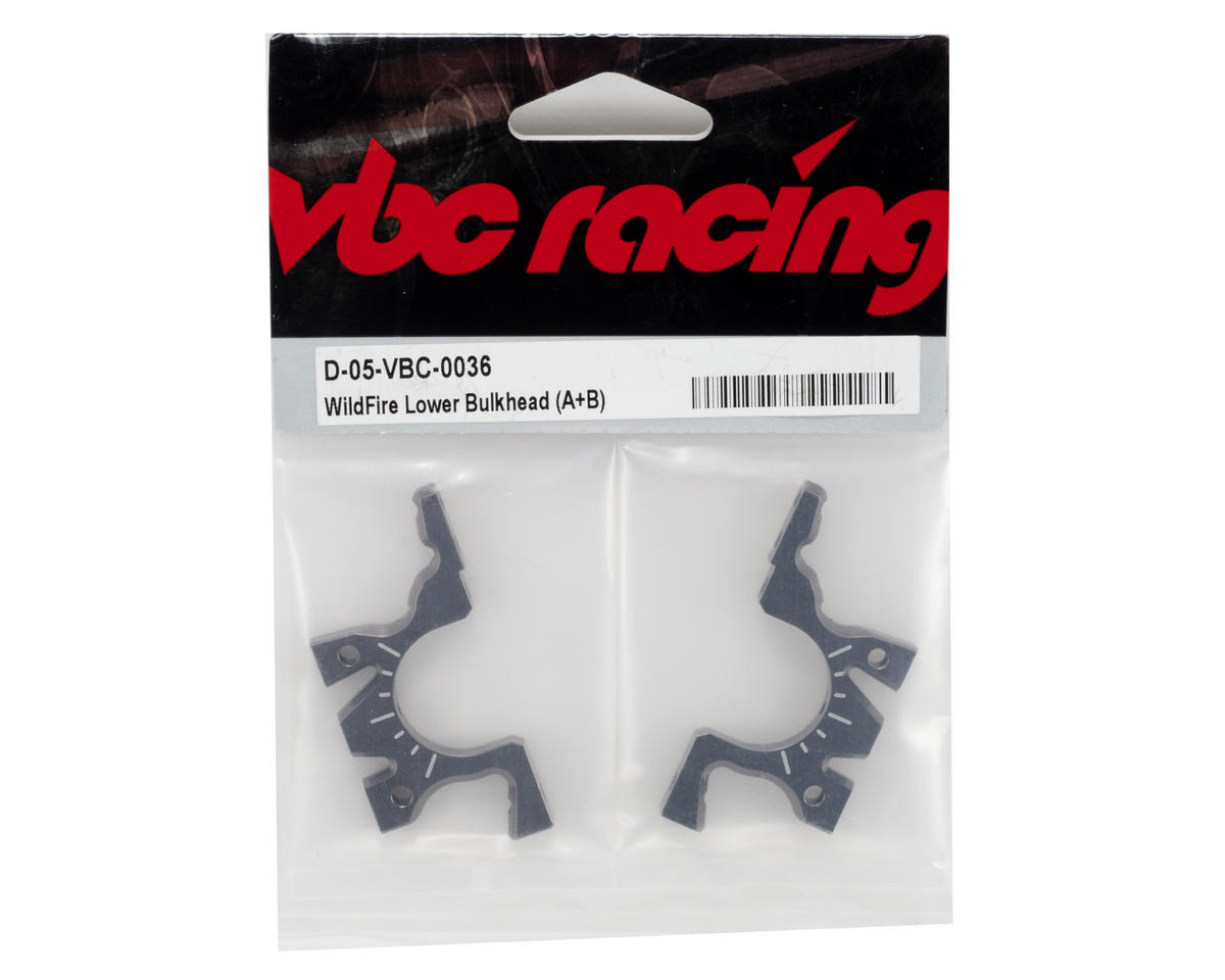Calandra Racing Concepts VBC Racing Lower Bulkhead Set (A+B)