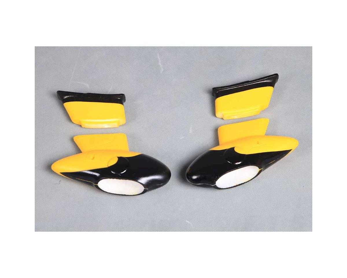 Cloud Nine Misc. Parts Wheel Pants Set: Gee Bee 980mm