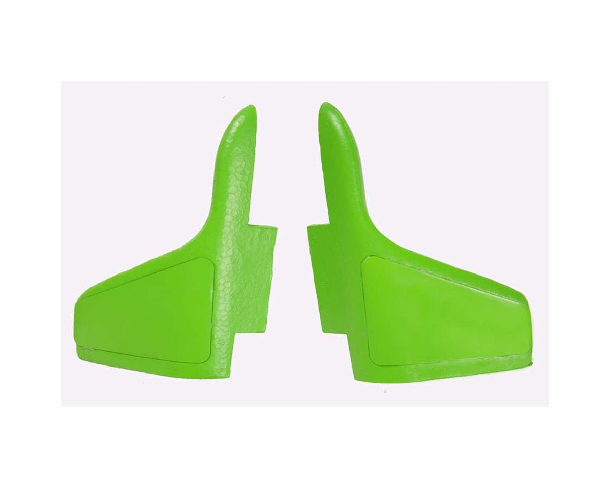 Cloud Nine Misc. Parts Wing Tip, Green: Viper Jet