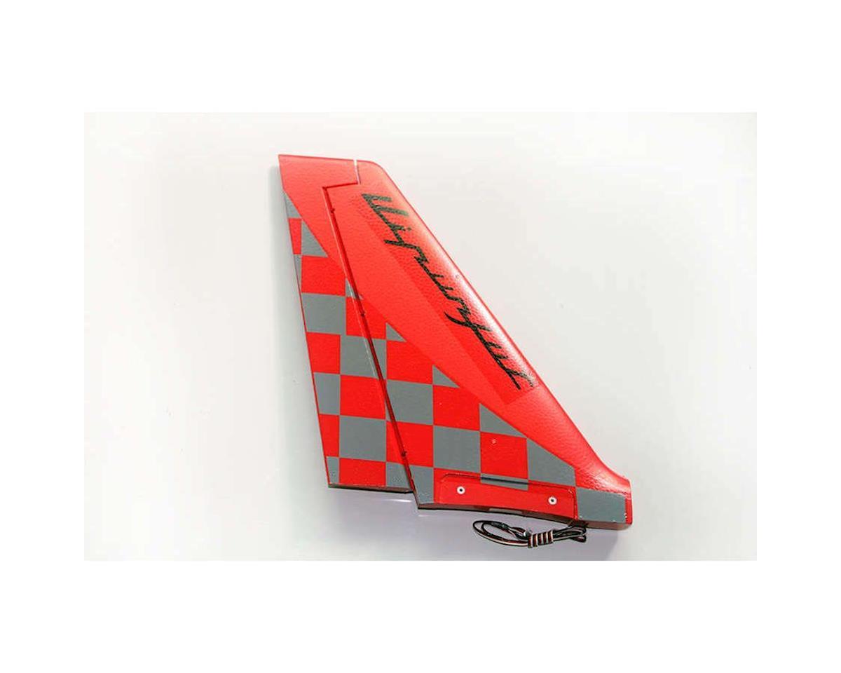 Cloud Nine Rudder, Red: Viper Jet