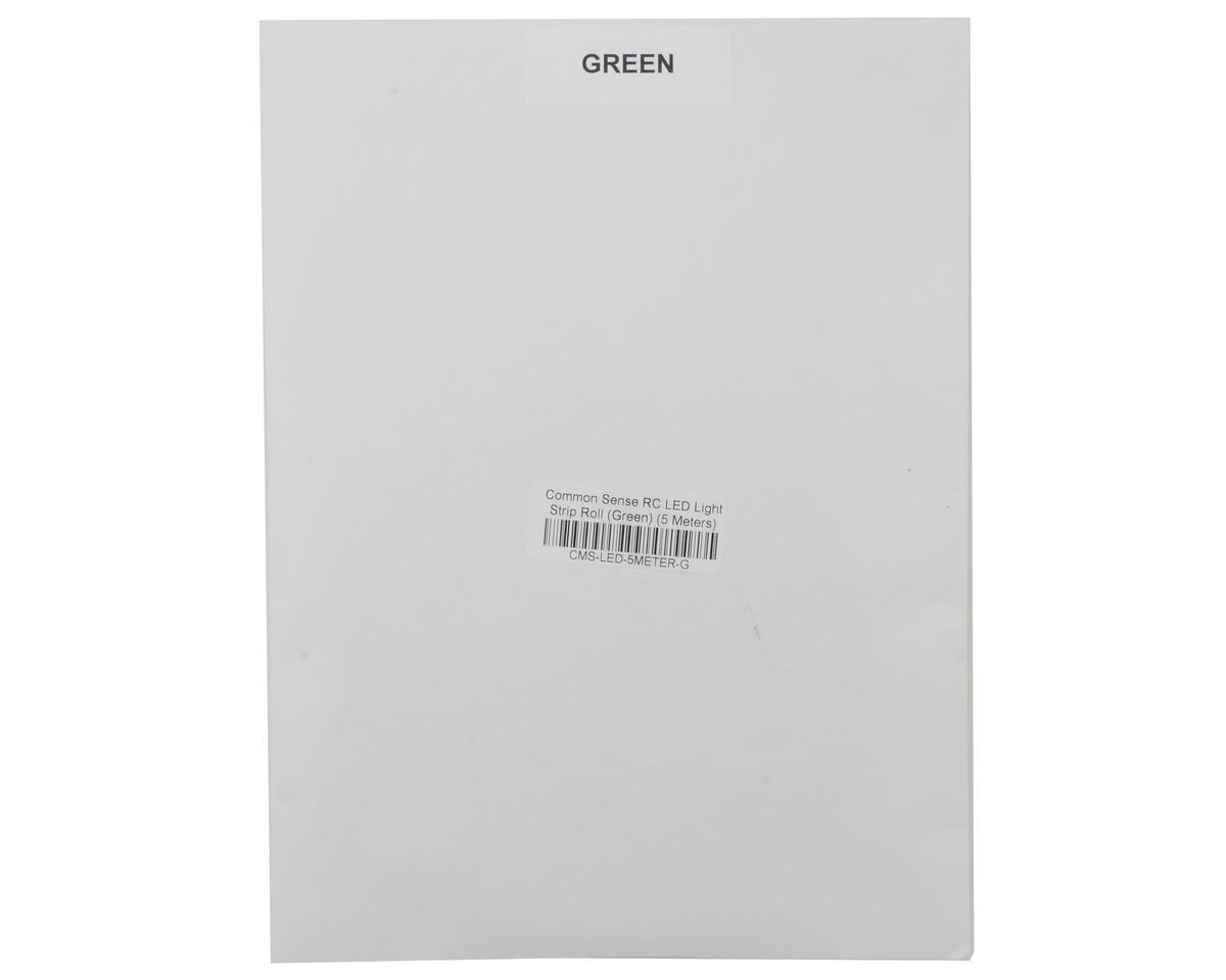 Common Sense RC LED Light Strip Roll (Green) (5 Meters)