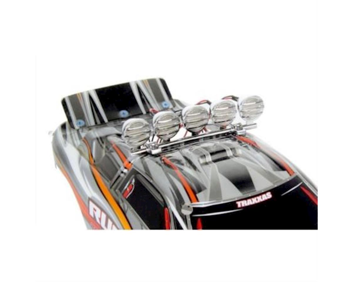Common Sense RC 1/10 Crawler LED Light Bar Set - Chrome
