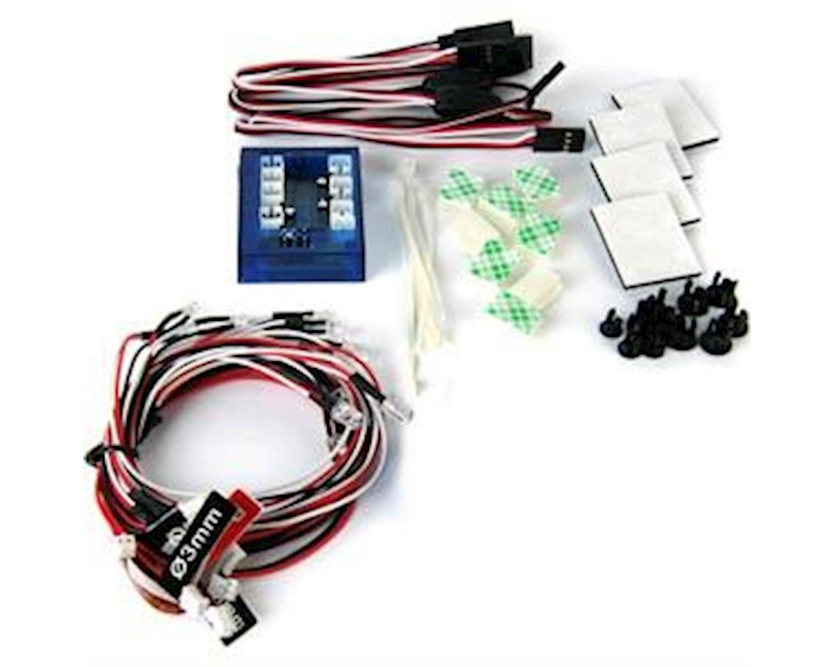 Led Lighting Kit 1/10 Cars & Trucks by Common Sense RC