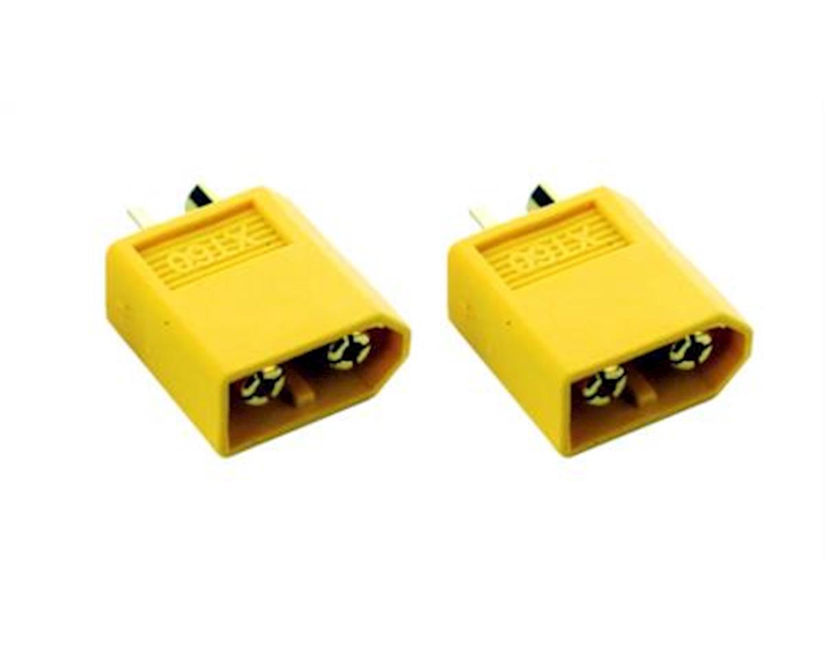 Common Sense XT60 Connectors - 2-Pack - Male