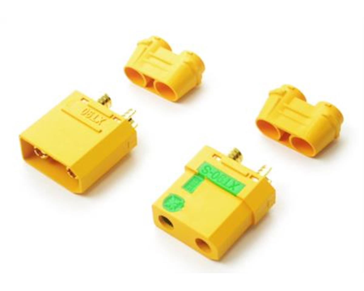Common Sense XT90 Anti-Spark Connectors - (1) Male and (1) Female