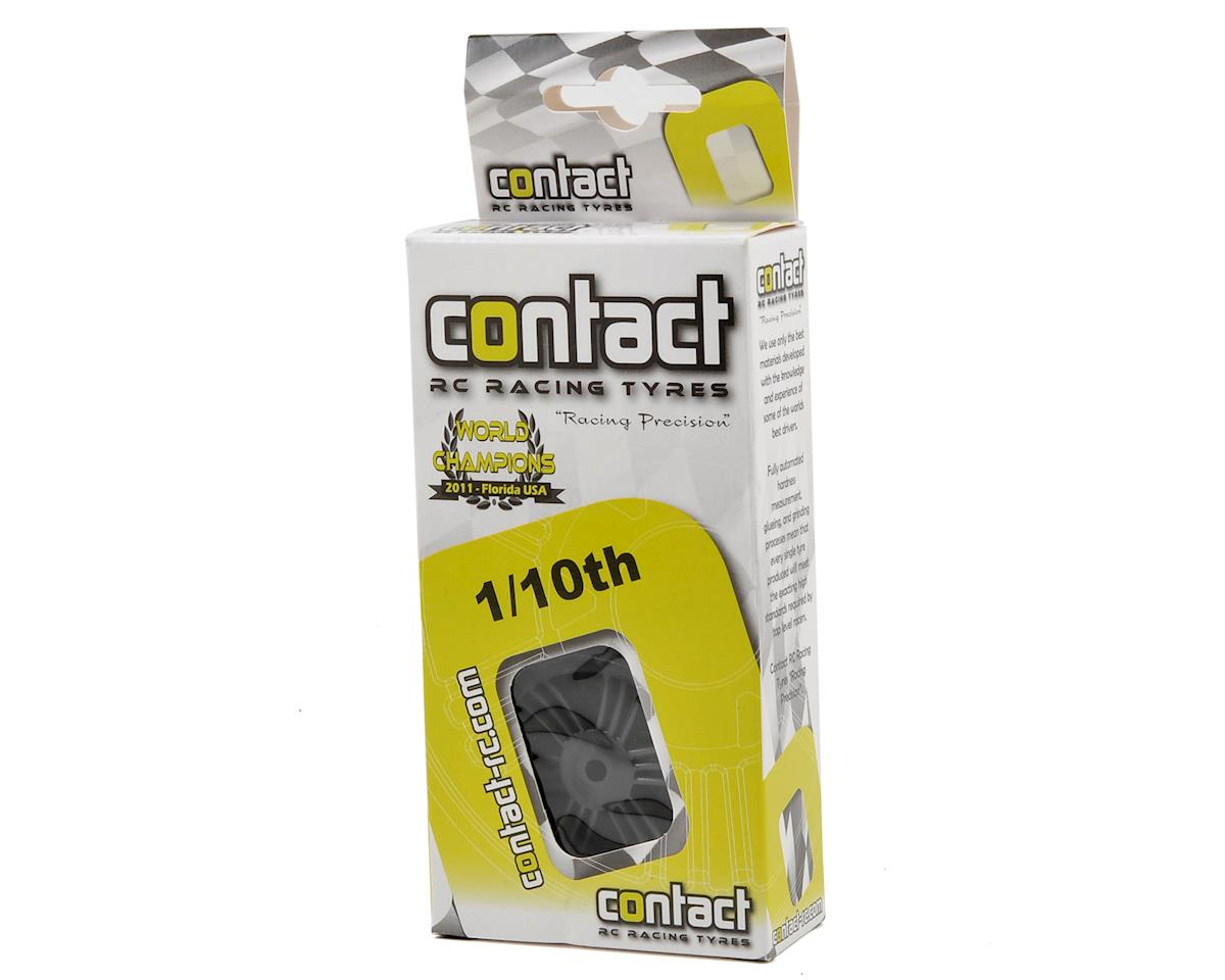 Contact RC 1/10 Electric Sedan Dual Foam Front Tires (2)