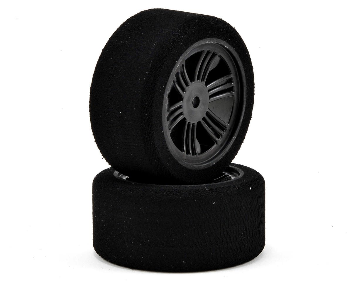 12mm Hex 30mm 1/10 Nitro Sedan Foam Rear Tires (2) (Carbon Black) (40 Shore) by Contact