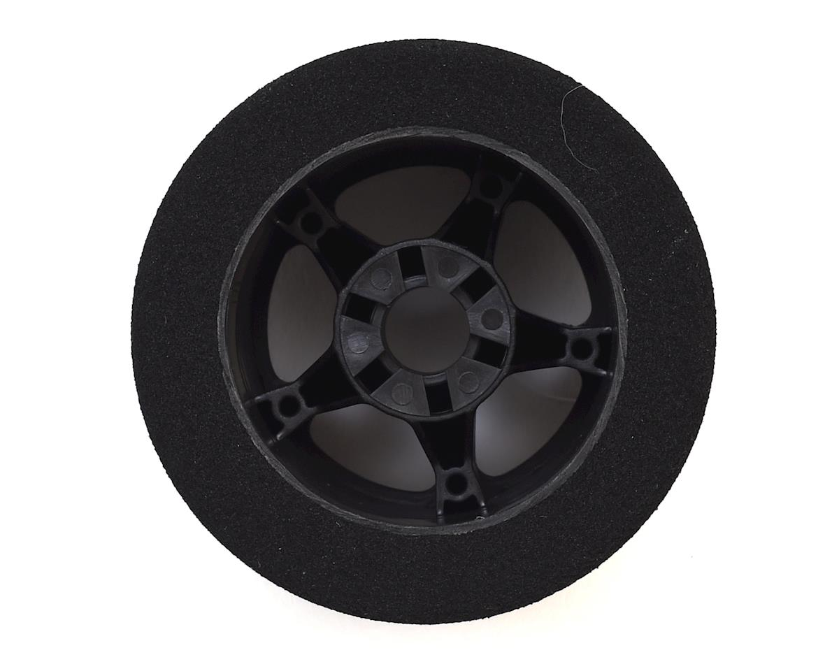 Contact 1/8 Nitro Foam Rear Tires w/5 Spoke Rim (2) (Black) (32 Shore)
