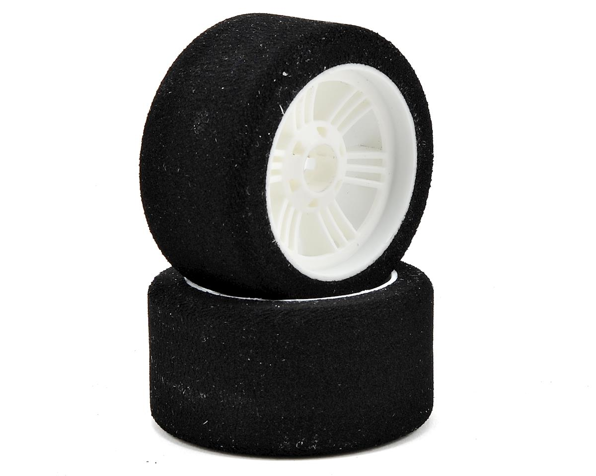 Contact RC 1/8 On Road Front Tires (2) (White) (35 Shore)