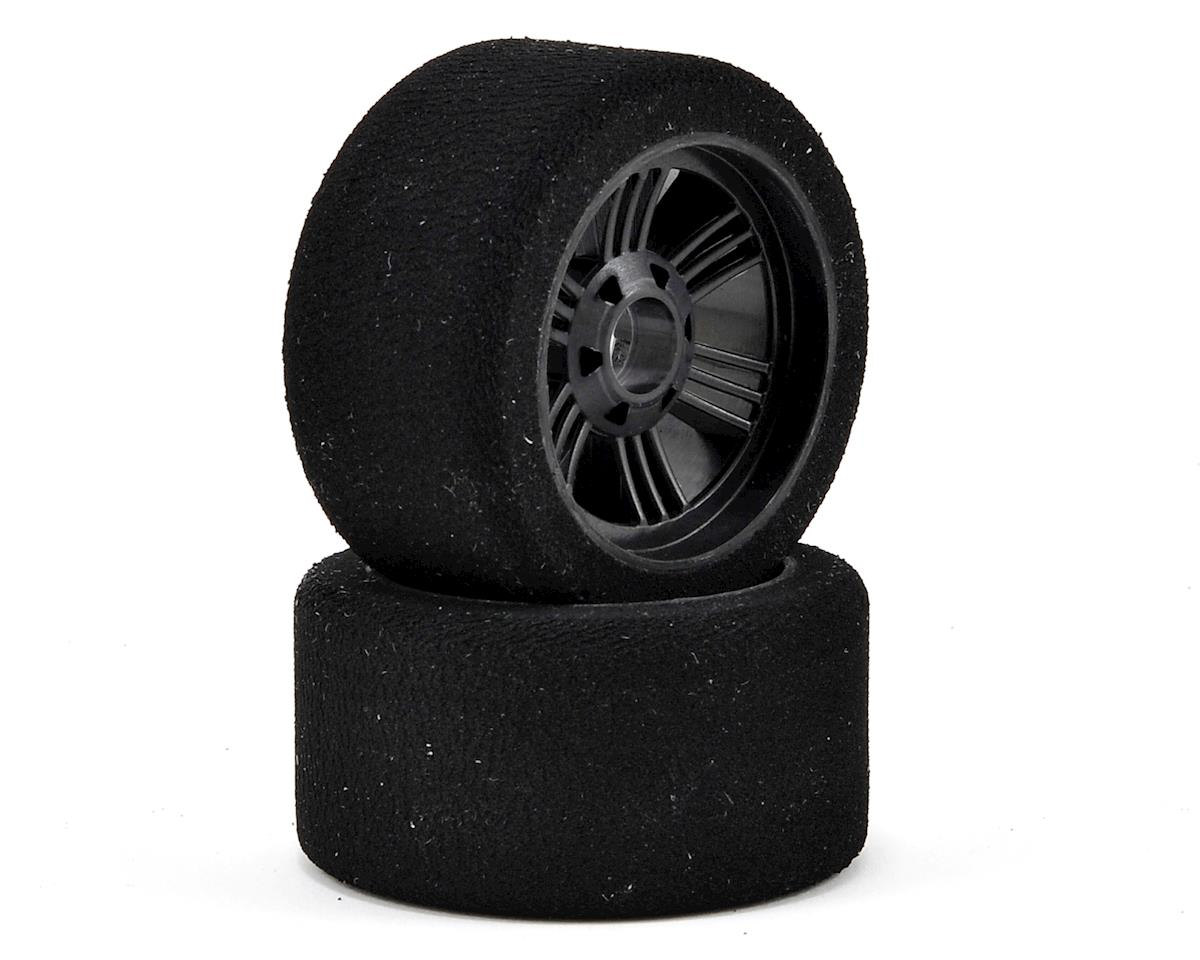 Contact RC 1/8 On Road Front Tires (2) (Carbon Black) (35 Shore)