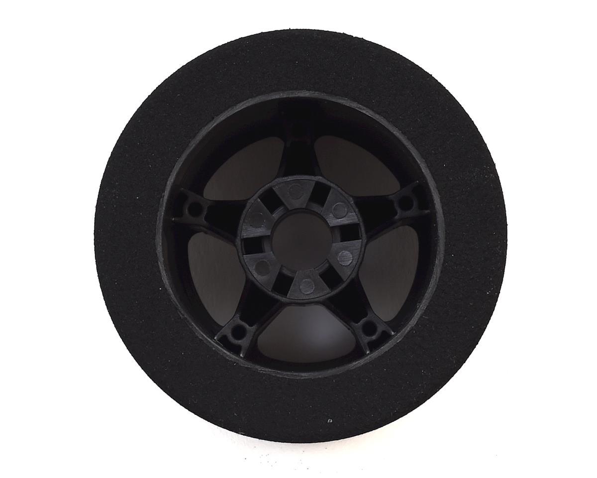 Contact 1/8 Nitro Foam Rear Tires w/5 Spoke Rim (2) (Black) (37 Shore)
