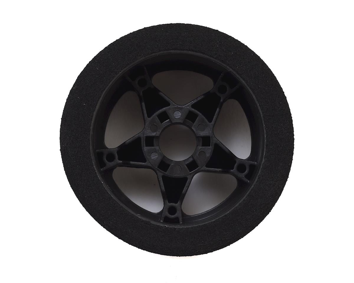 Contact 1/8 Nitro Foam Front Tires w/5 Spoke Rim (2) (Black) (40 Shore)