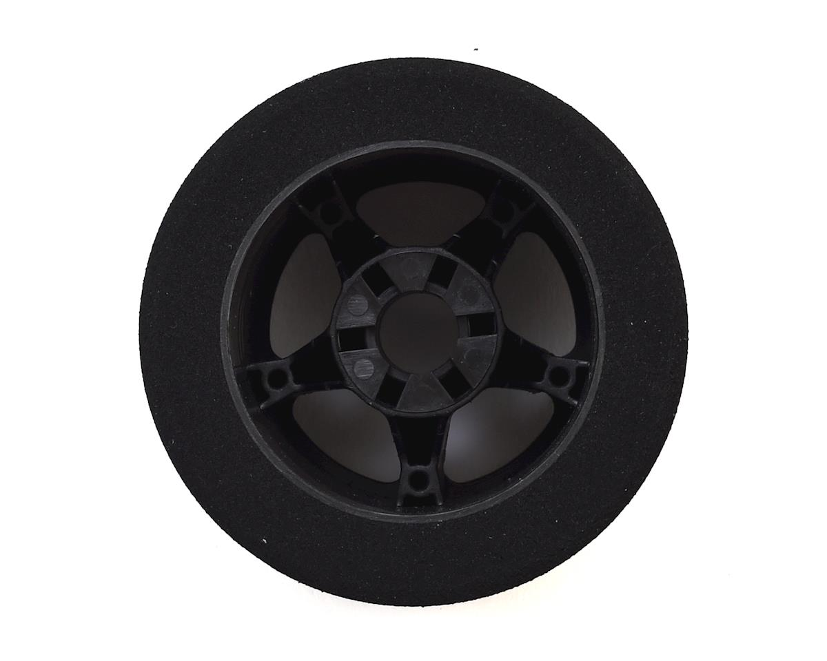 Contact 1/8 Nitro Foam Rear Tires w/5 Spoke Rim (2) (Black) (40 Shore)