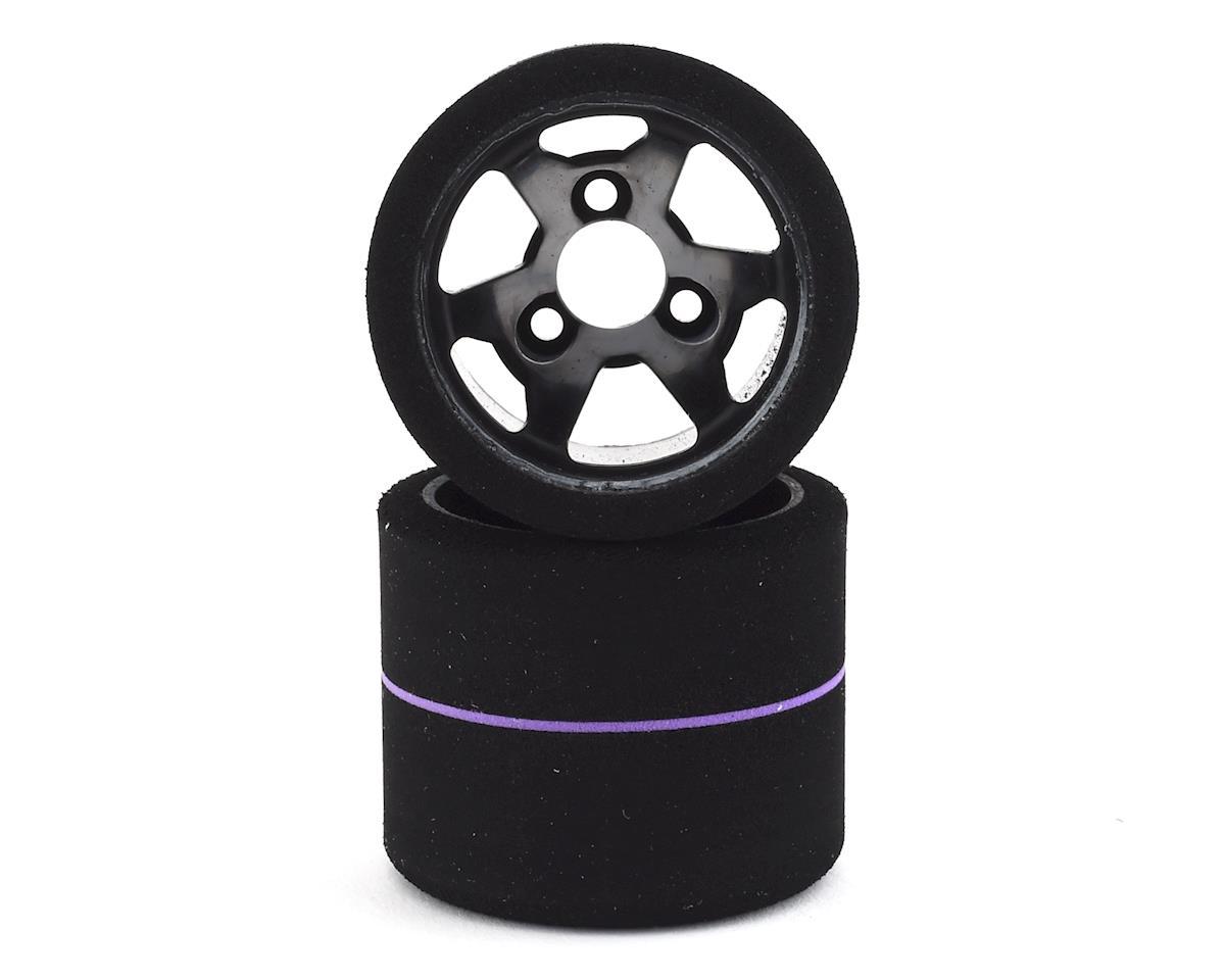 Contact LMP12 USA Spec 1/12 Foam Rear Tires (2) (Purple)
