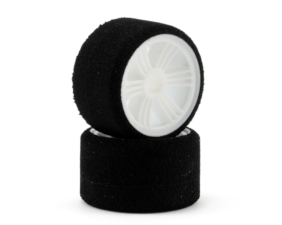 1/12 Foam Front Tires (2) (White) (35 Shore) by Contact