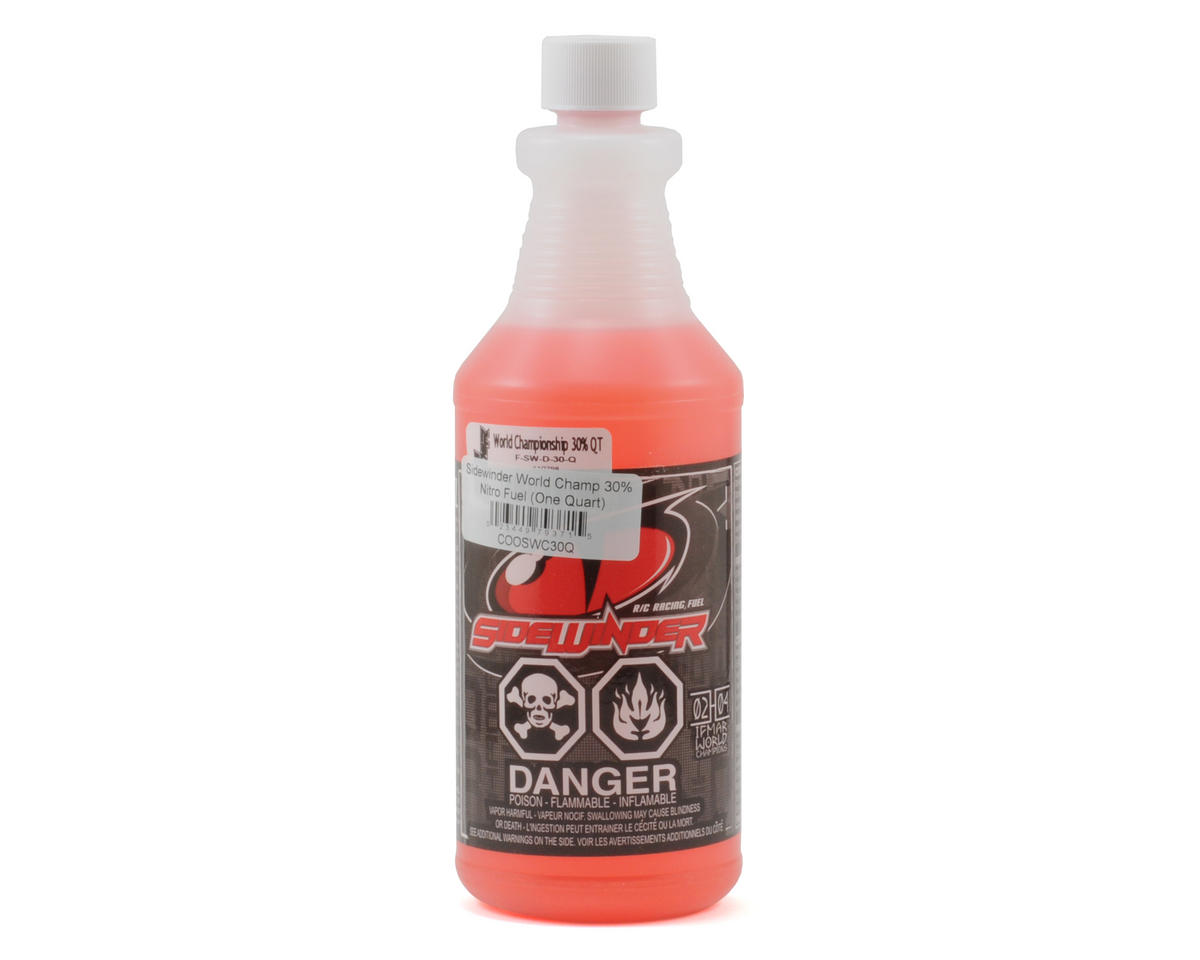 Morgan Fuel Sidewinder World Champ 30% Nitro Fuel (One Quart)