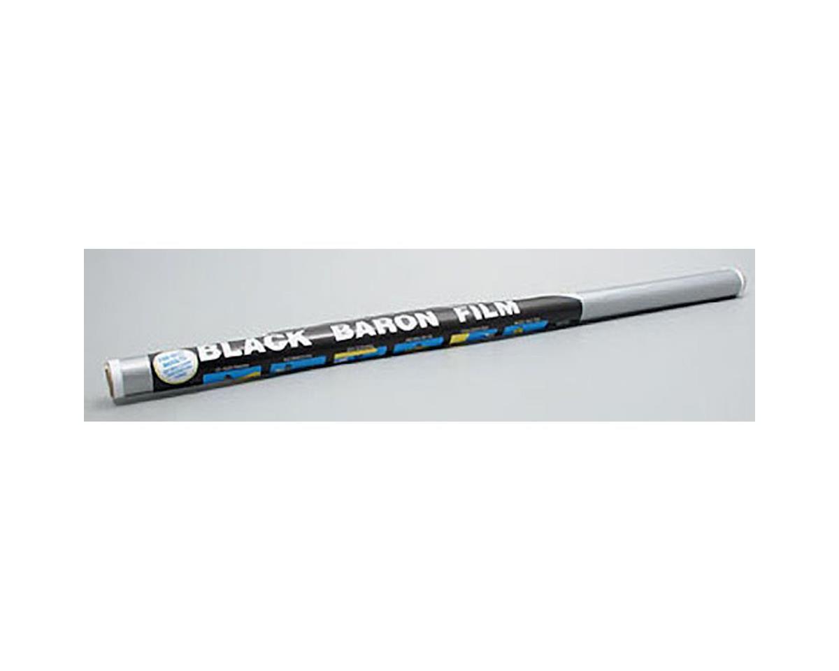 Coverite Black Baron Film Metallic Silver 6'