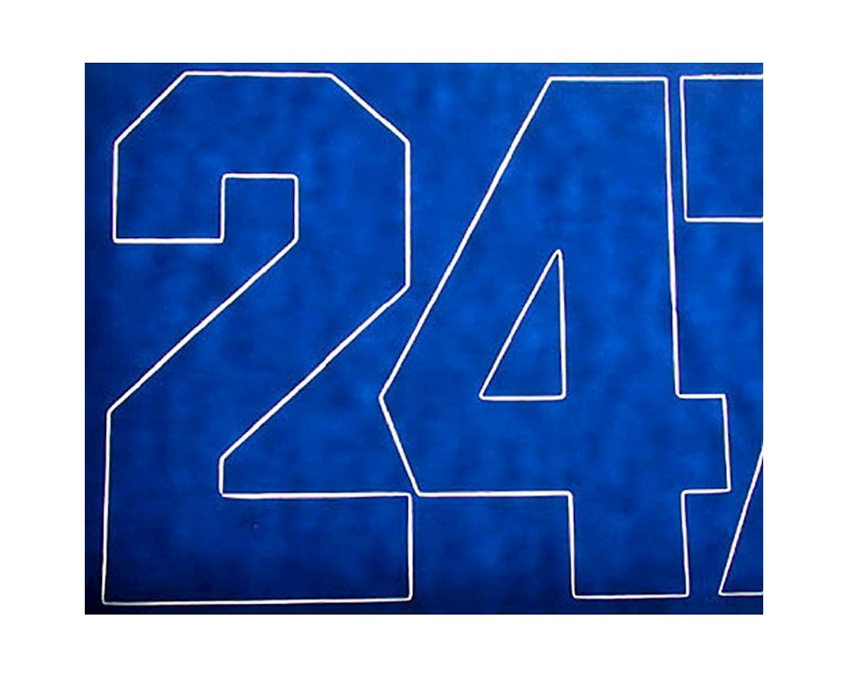 """Coverite Numbers Blue 3"""""""