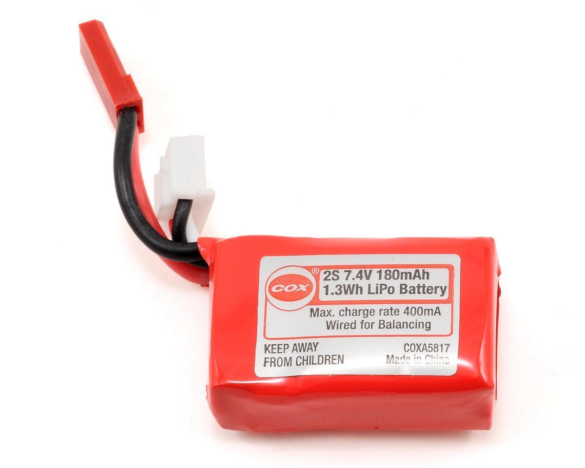 Cox 2S LiPo Battery Pack (7.4V/180mAh) (Sky Ranger EP)