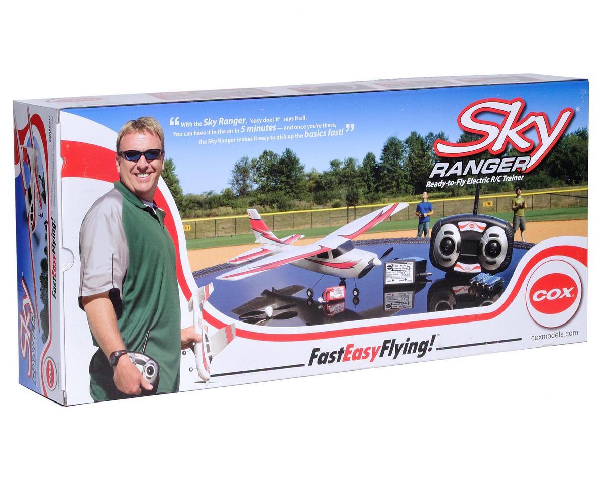 Cox Sky Ranger EP RTF Park Flyer w/2.4GHz Radio System