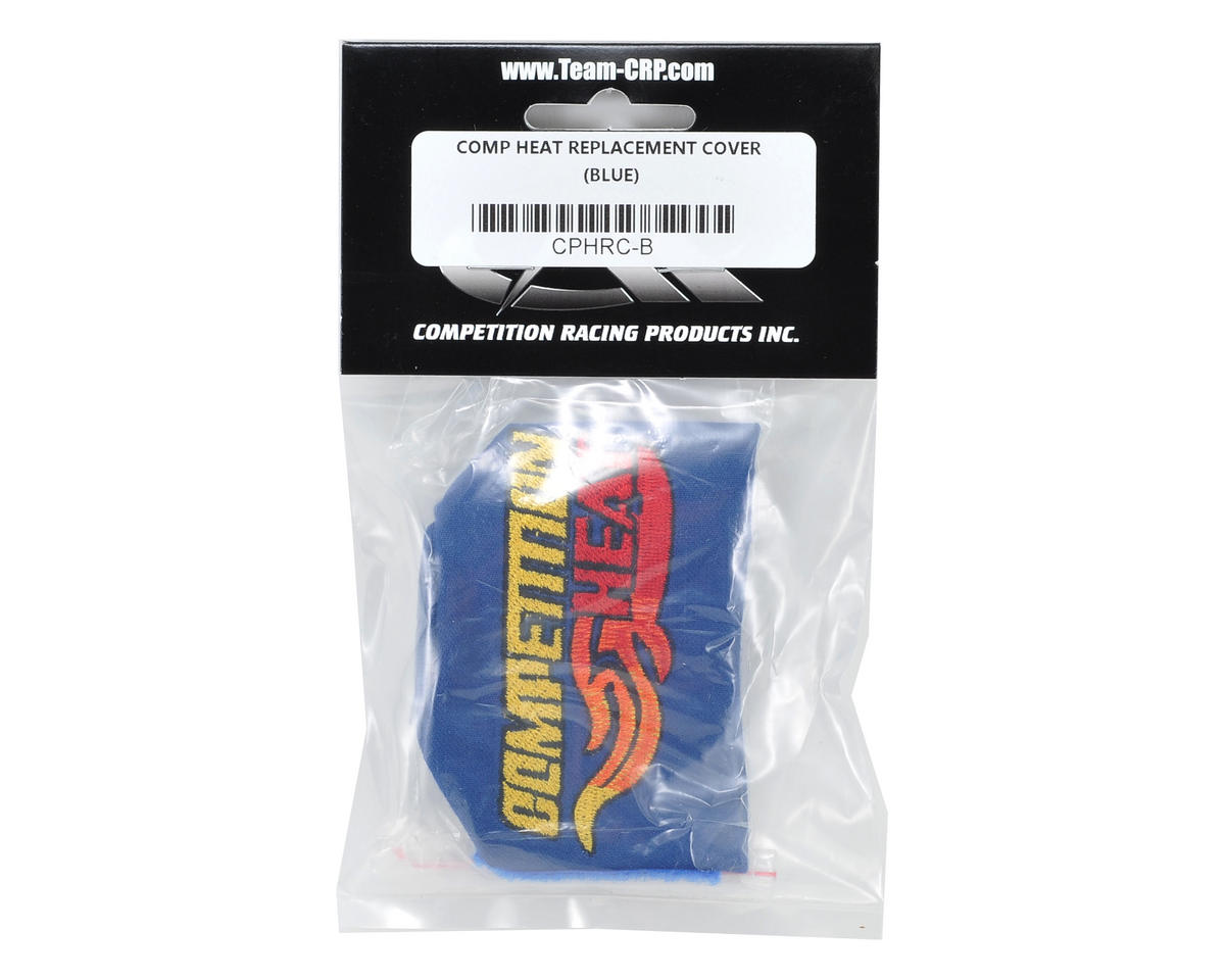 Competition Heat Fireproof Replacement Cover w/Logo (Blue)