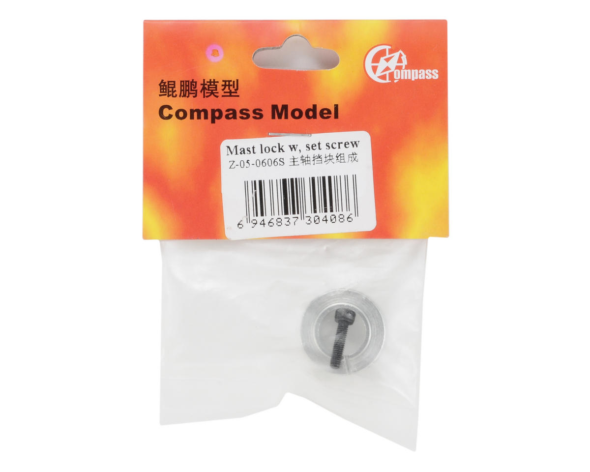 Compass Model Mast Lock