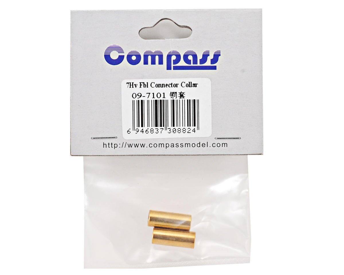 Compass Model Flybarless Connector Collar Set (2)
