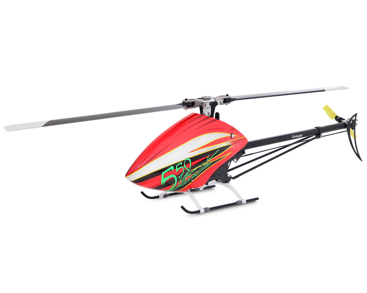 "Compass Model 550 ""Ultimate Edition"" Flybarless Helicopter Kit (Red)"