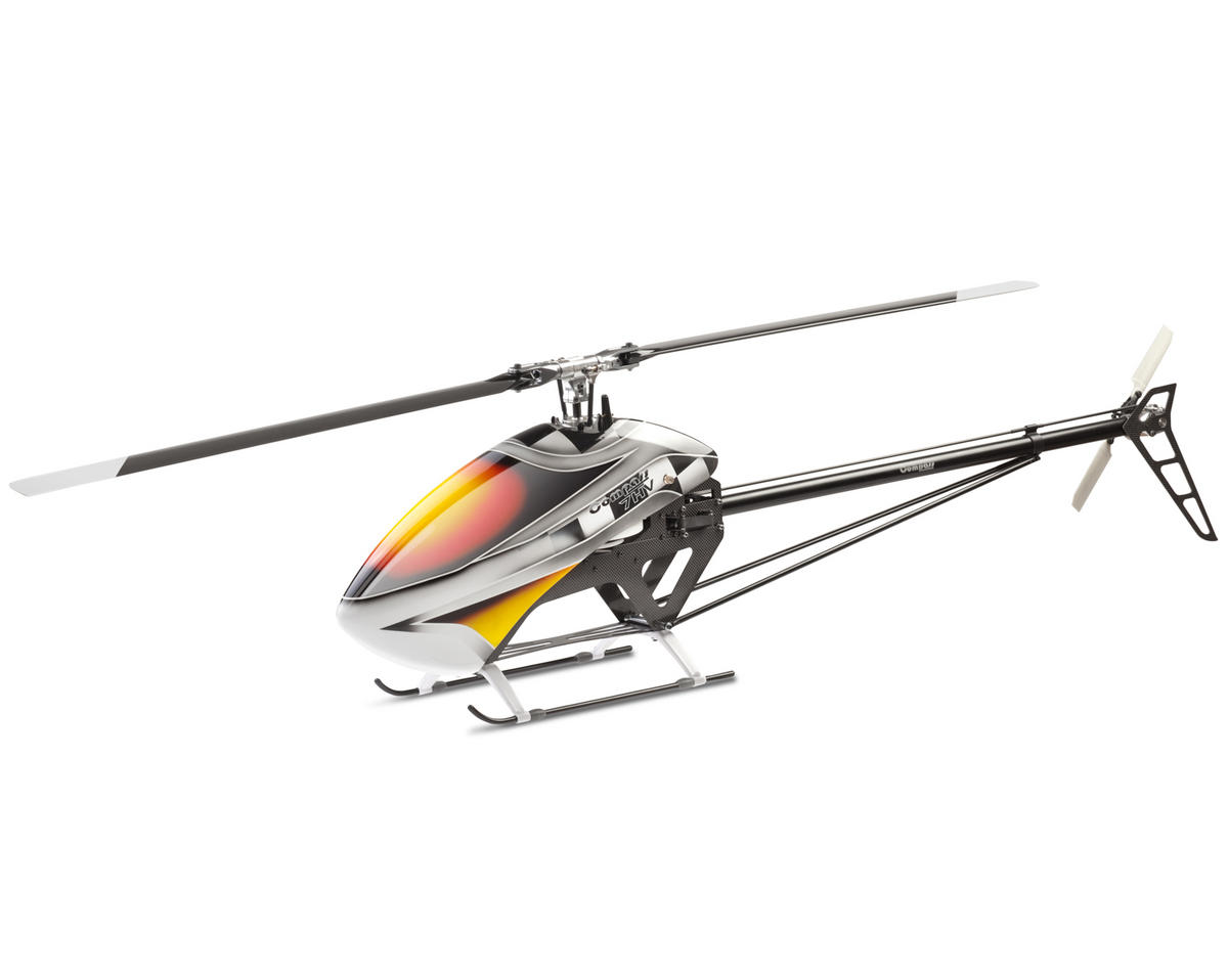 Compass Model 7HV FBL V2 Ultimate Edition Flybarless Helicopter Kit w/Carbon Blades