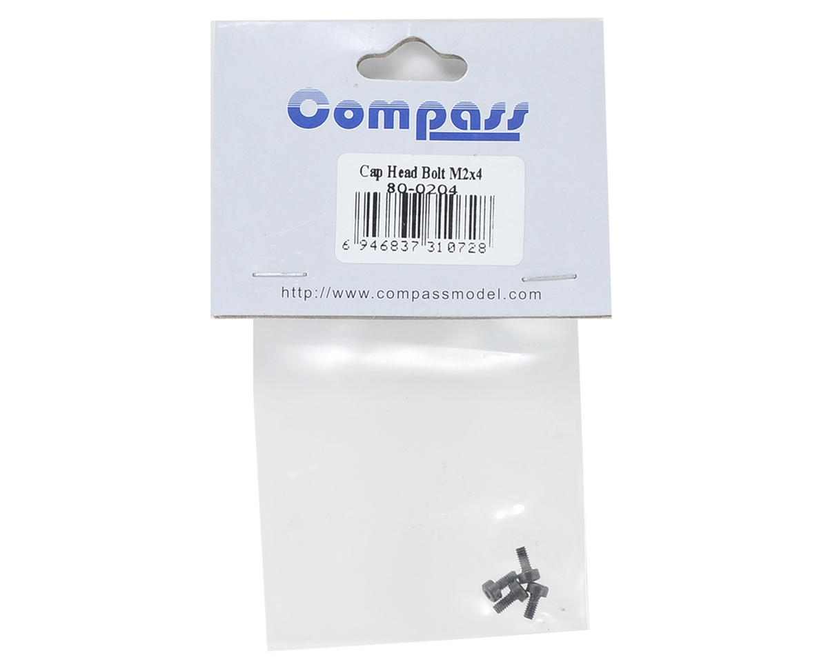 Compass Model 2x4mm Cap Head Screw (4)