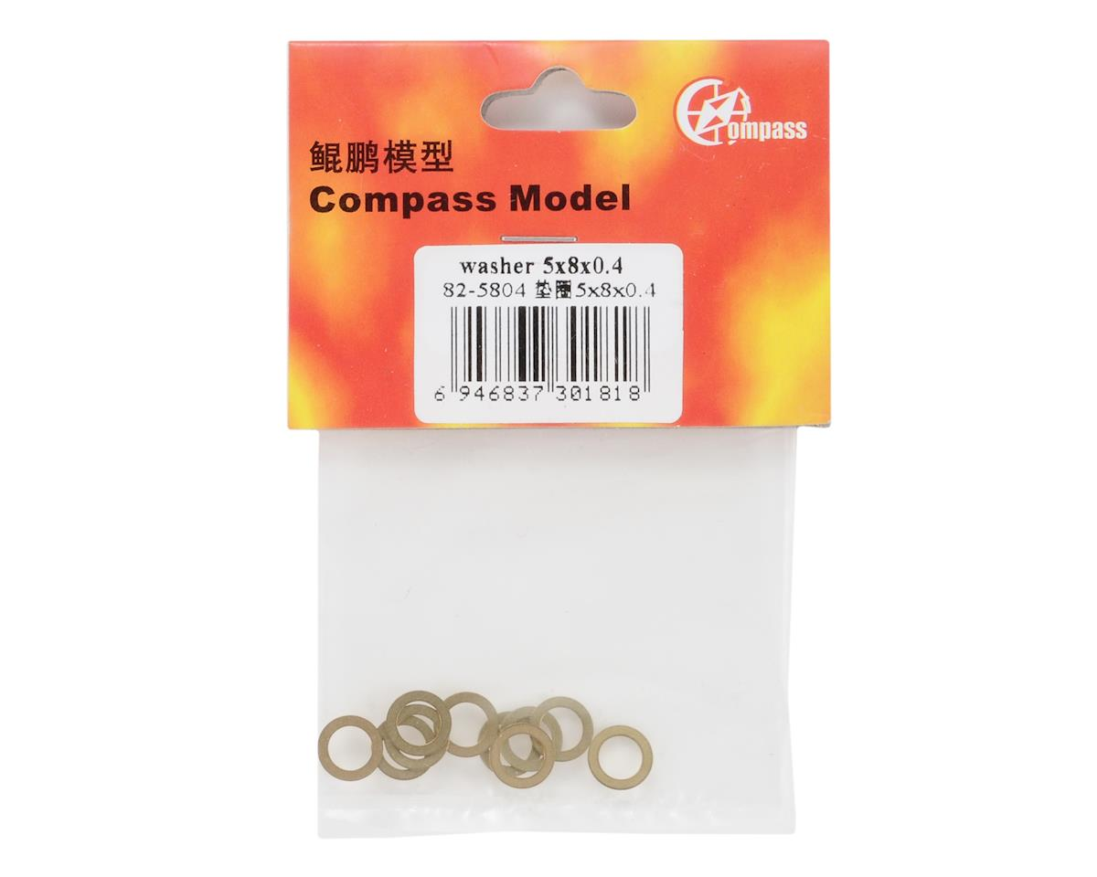Compass Model 5x8x0.4mm Washer
