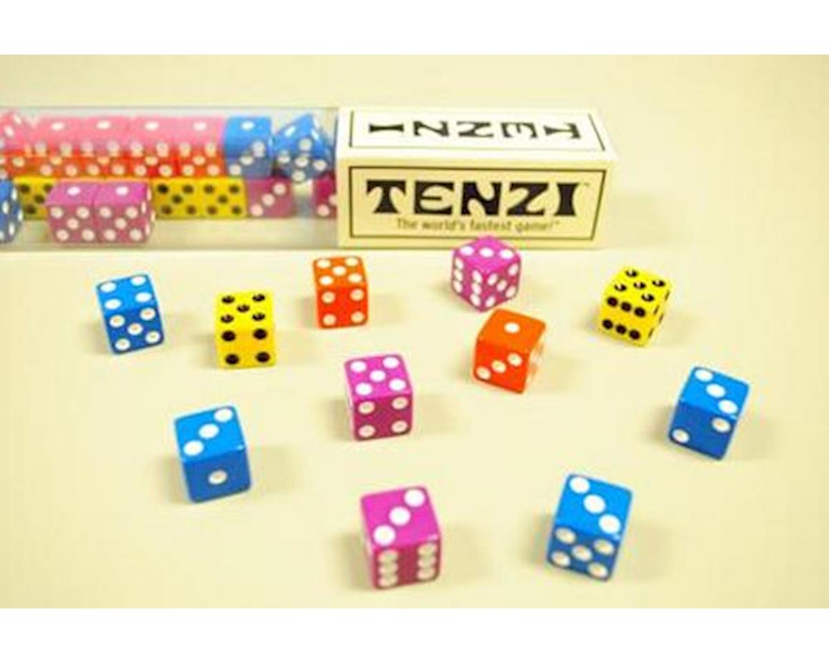 34376 Tenzi - The World's Fastest Dice Game (Colors May Vary)