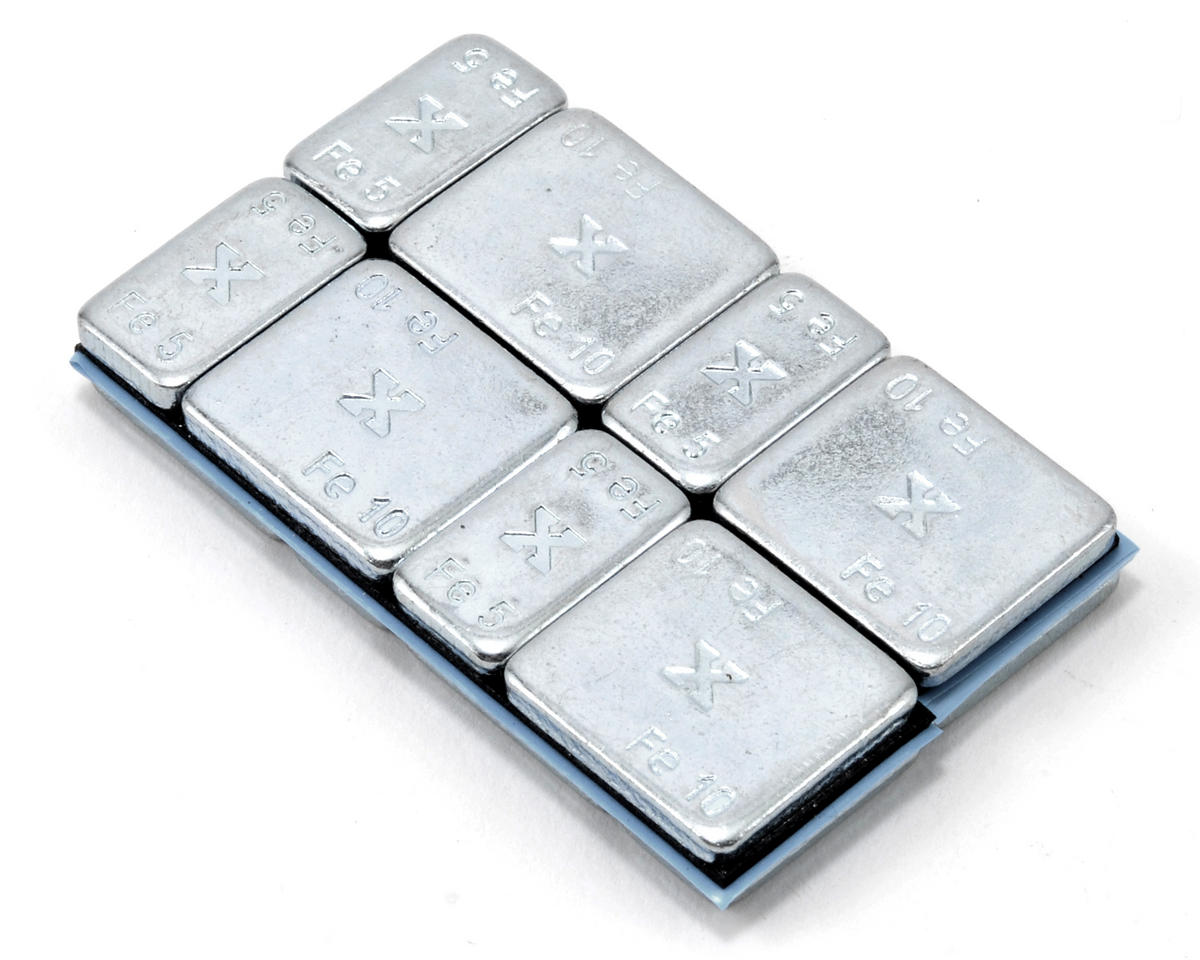 Core-RC X-Weight Set (16) (Silver)