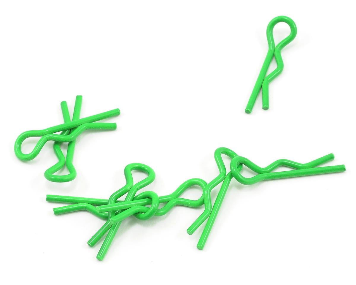 1/10 Scale Small Body Clip (Fluorescent Green) (8)