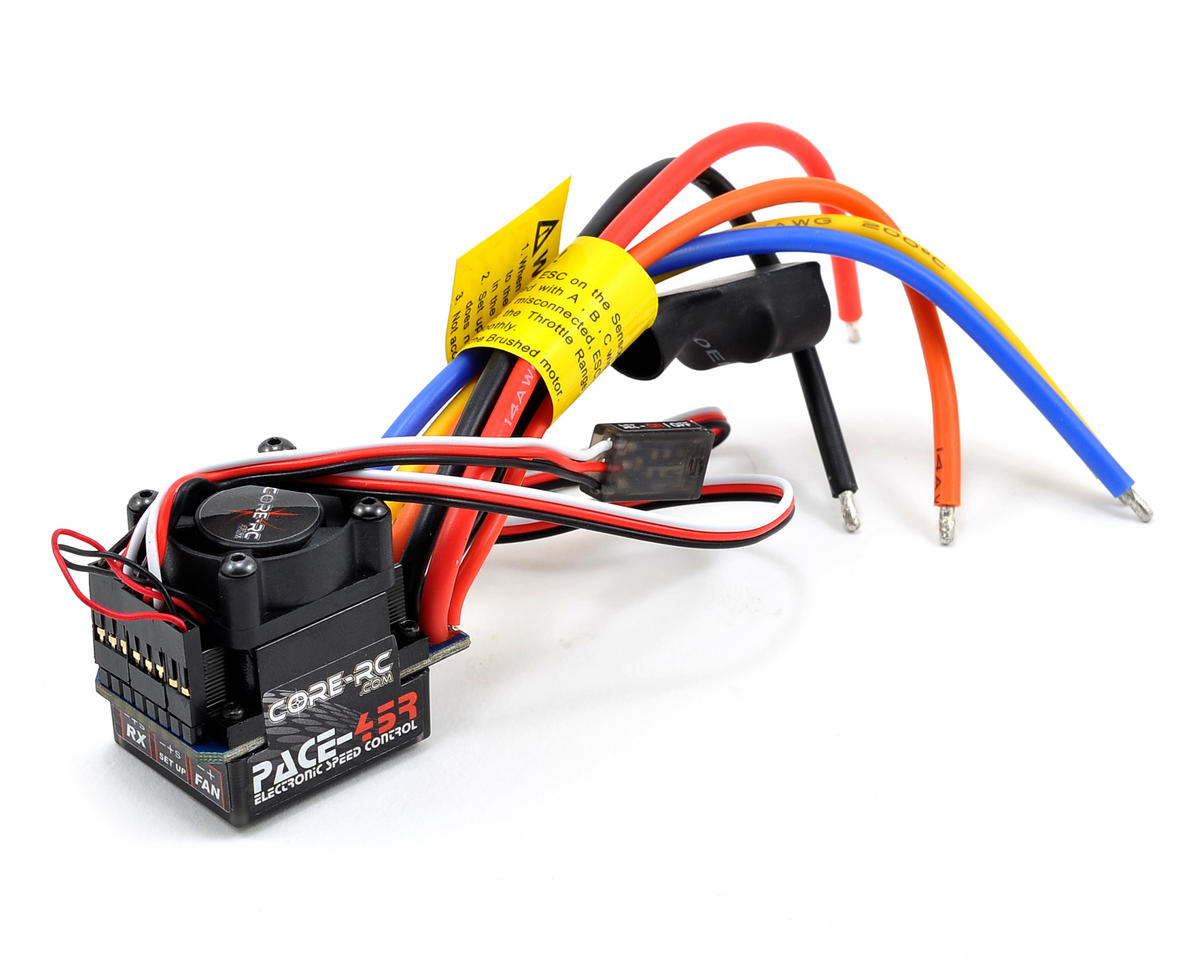 Core-RC PACE 45R Brushless 1S/2S ESC