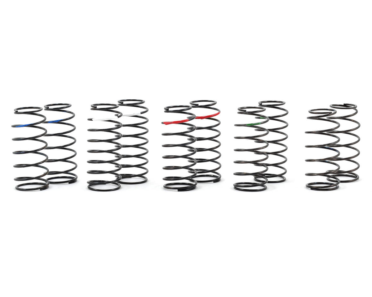 Medium Length Progressive Big Bore Shock Spring Tuning Set (5) by Core-RC