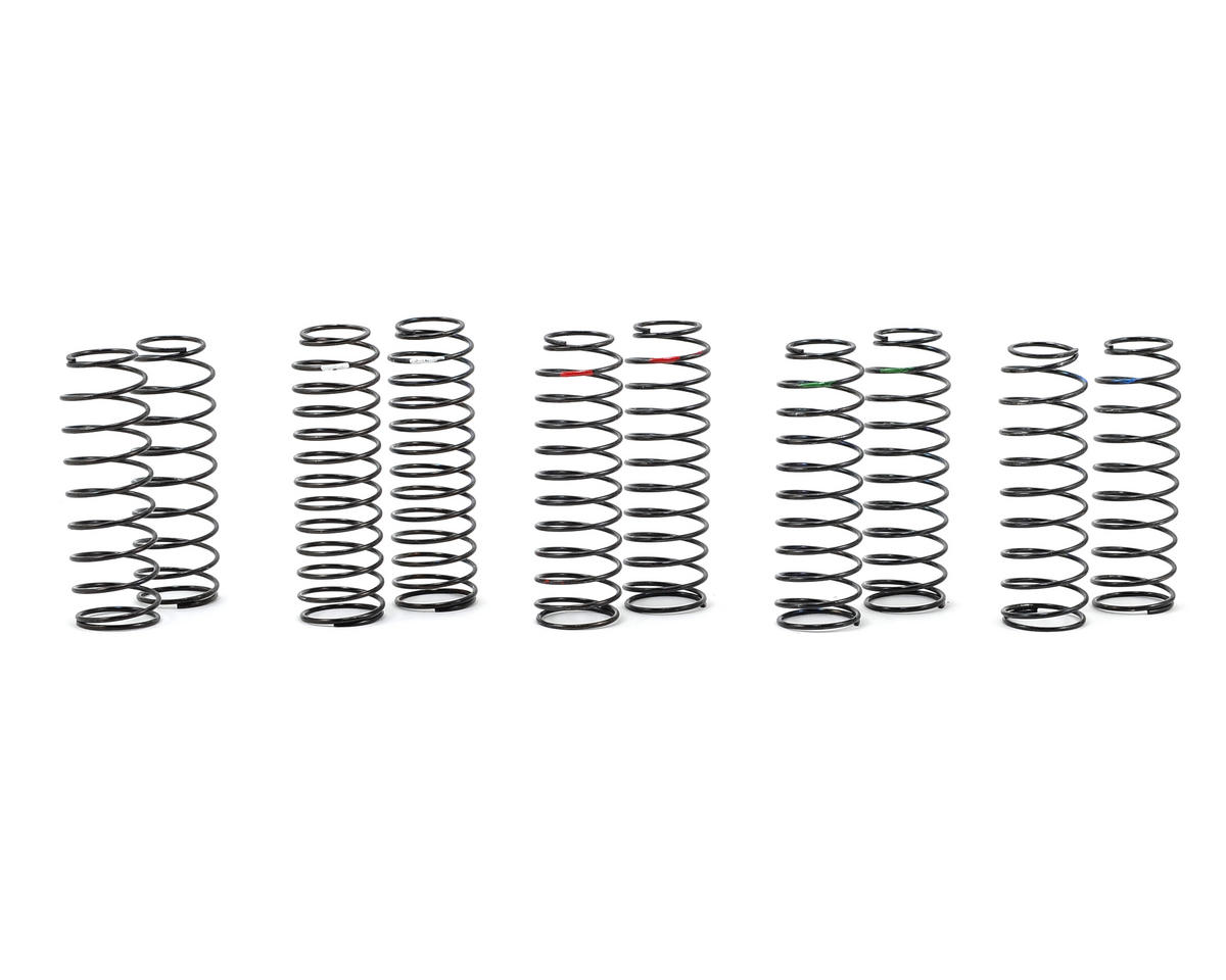 Core-RC Long Length Progressive Big Bore Shock Spring Tuning Set (5) (Schumacher CAT SX3)