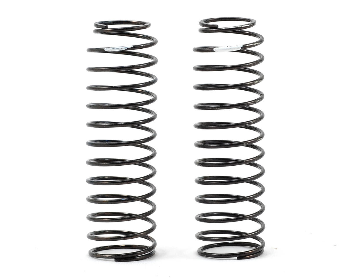 Long Length Big Bore Shock Spring Set (White/1.8) (2) by Core-RC