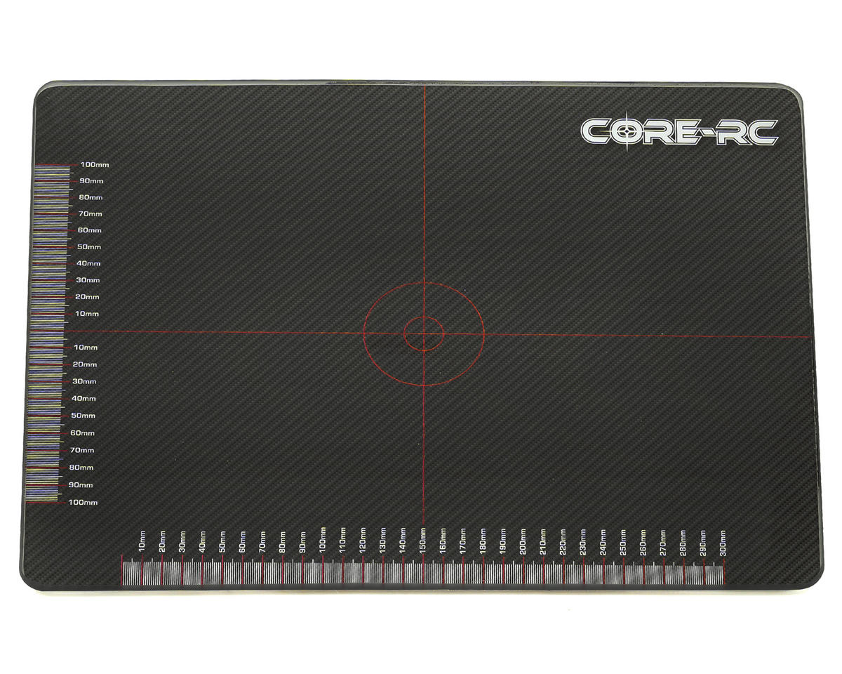 Core-RC 6mm Glass Set Up Board (40x30cm) (Schumacher Cougar SV2)