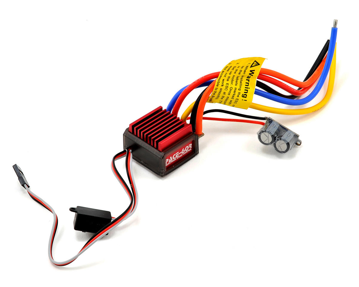 PACE 60R 1S/2S Sensored Brushless ESC