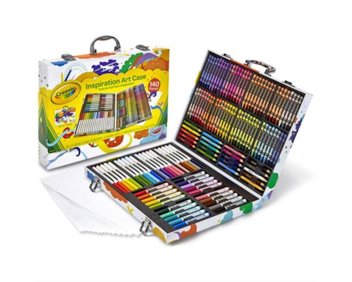 Crayola Llc Crayola 042532 Inspiration Art Case - 140 Pieces - Crayons, Colored Pencils, Markers