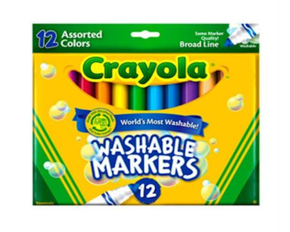 Crayola Llc Markers Broad Line 12Pc