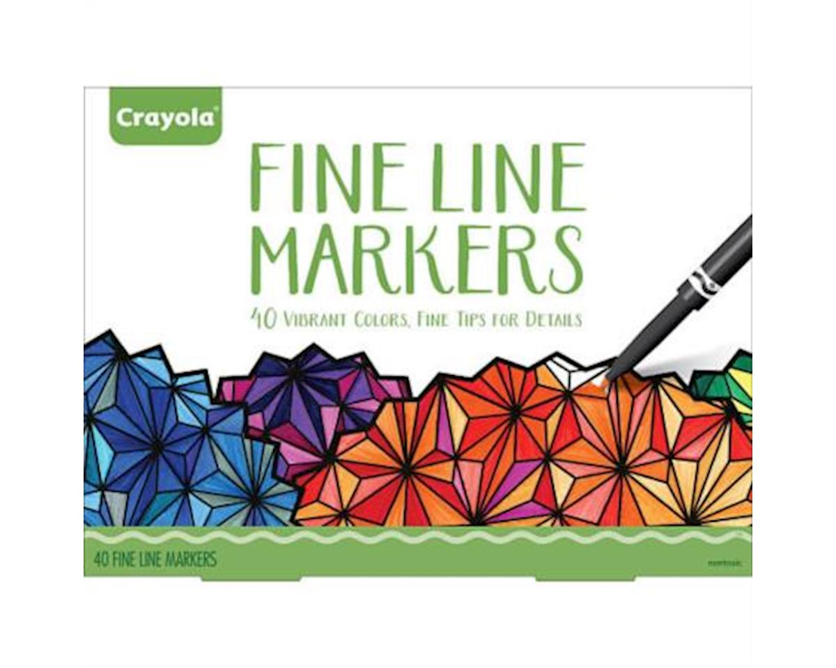 Crayola Adult Fine Line Markers - 40 Count by Crayola Llc