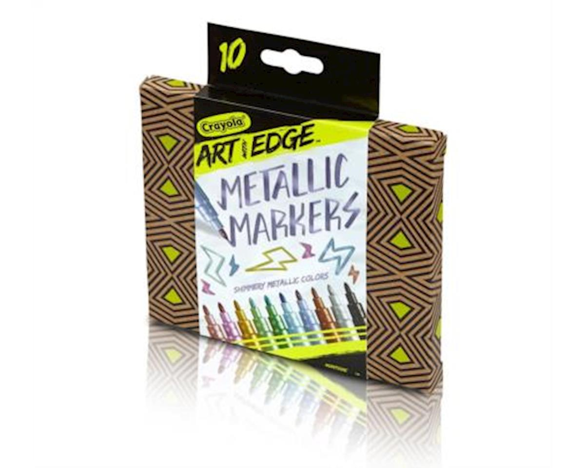 Crayola Art with Edge Metallic Markers 10ct Novelty