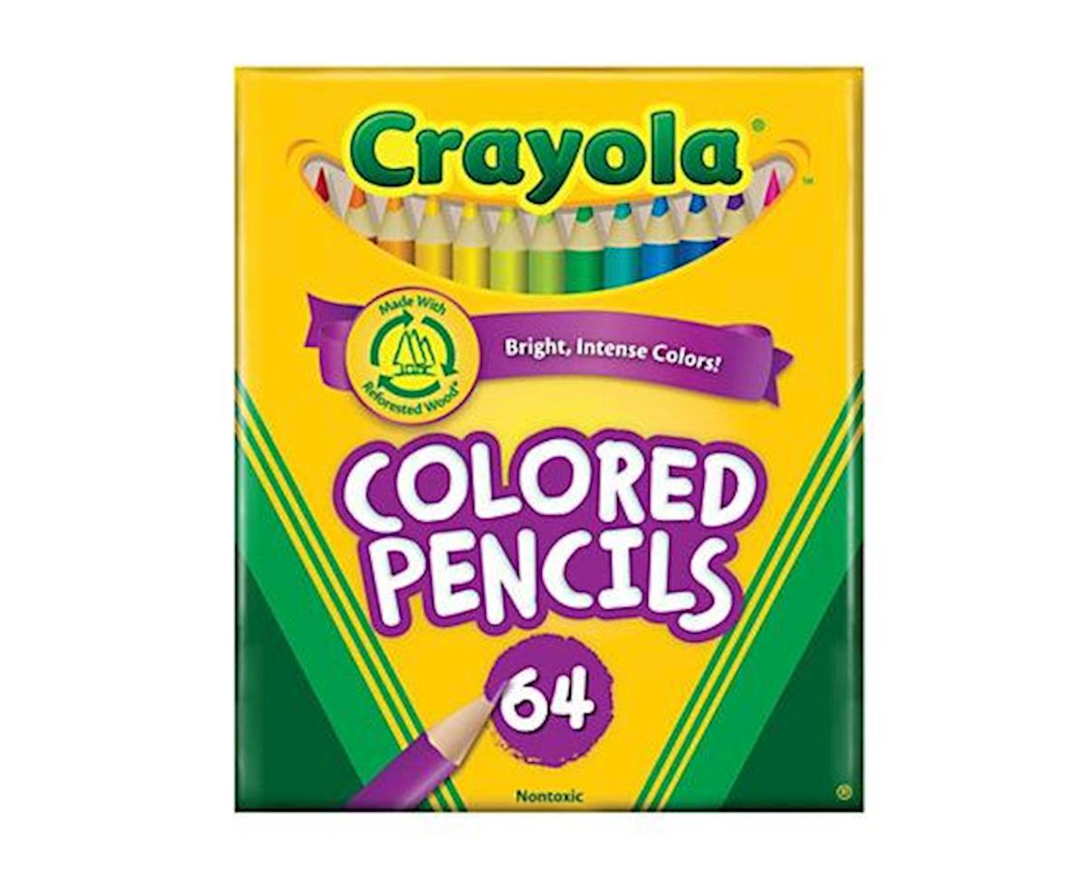 Short Colored Pencils 64Pc by Crayola Llc