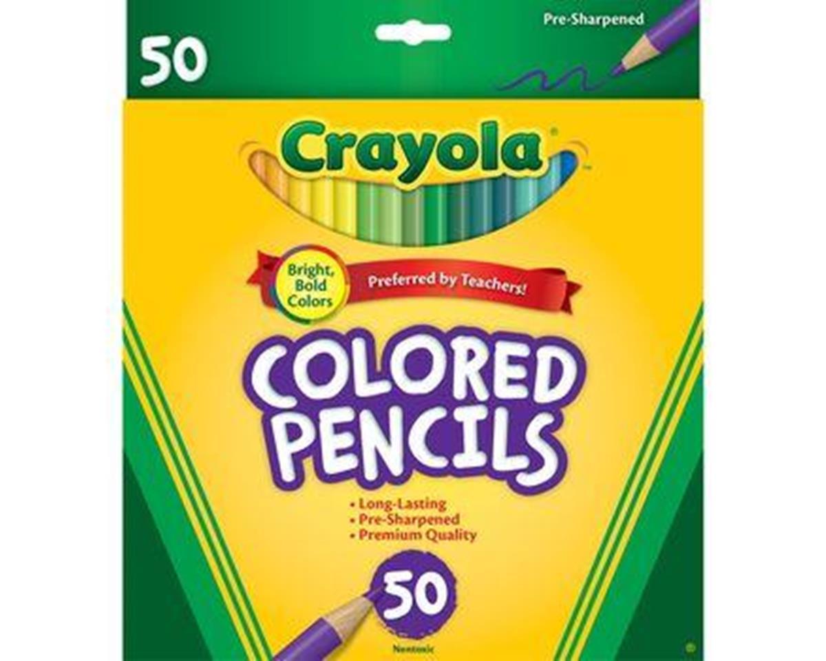 Crayola Llc Crayola 50ct Long Colored Pencils (68-4050)