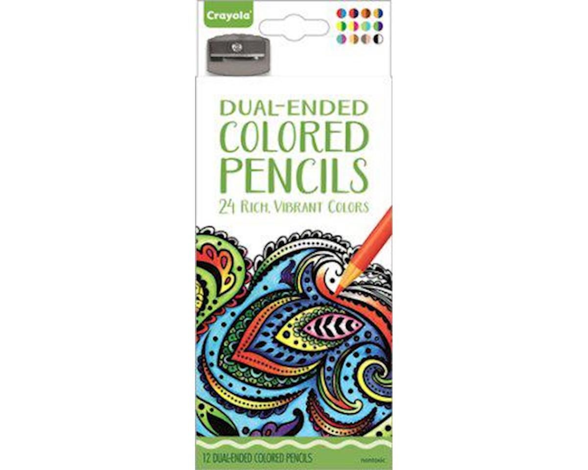 Crayola Llc Dual-Ended Colored Pencils 12Pc