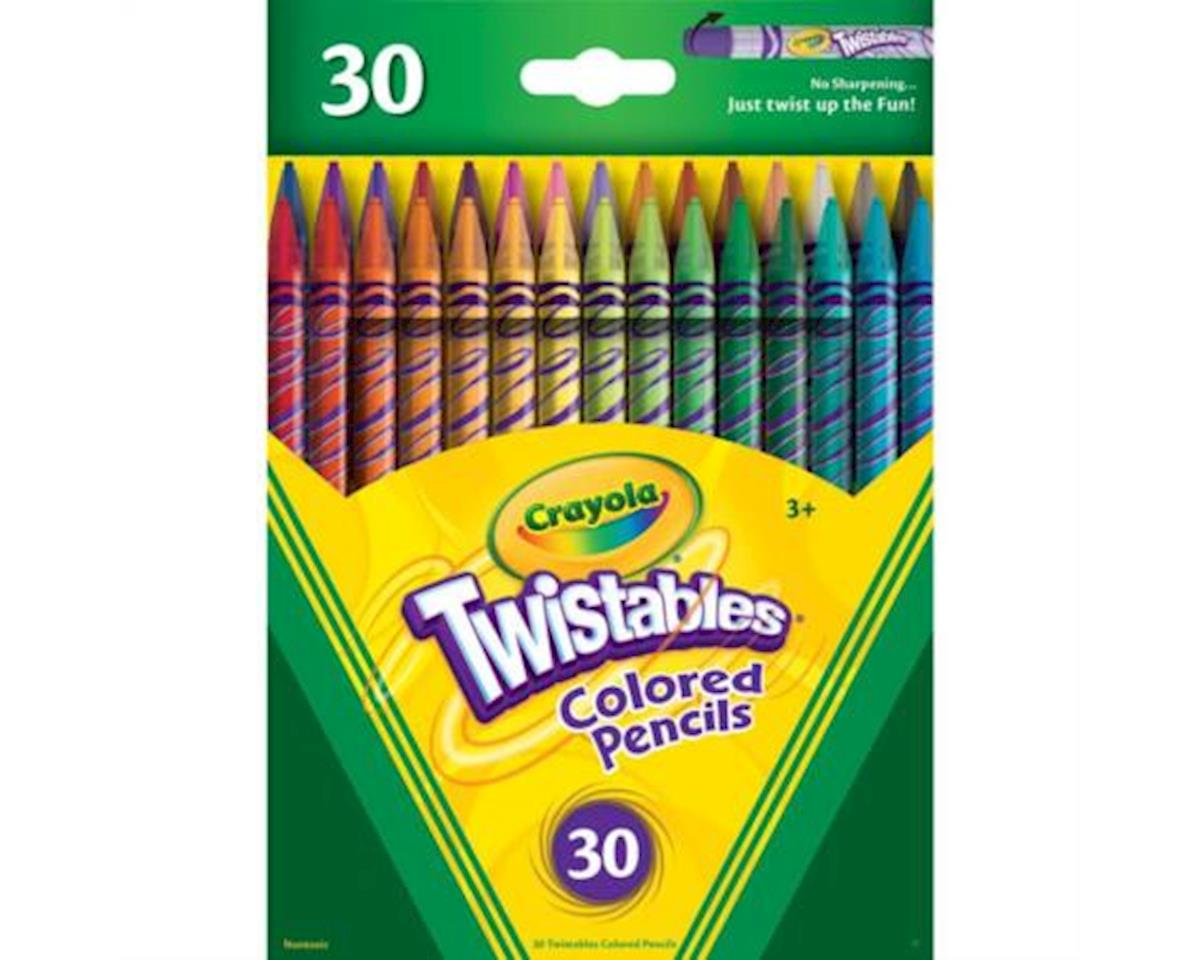 30Ct Twistables Colored Pencils