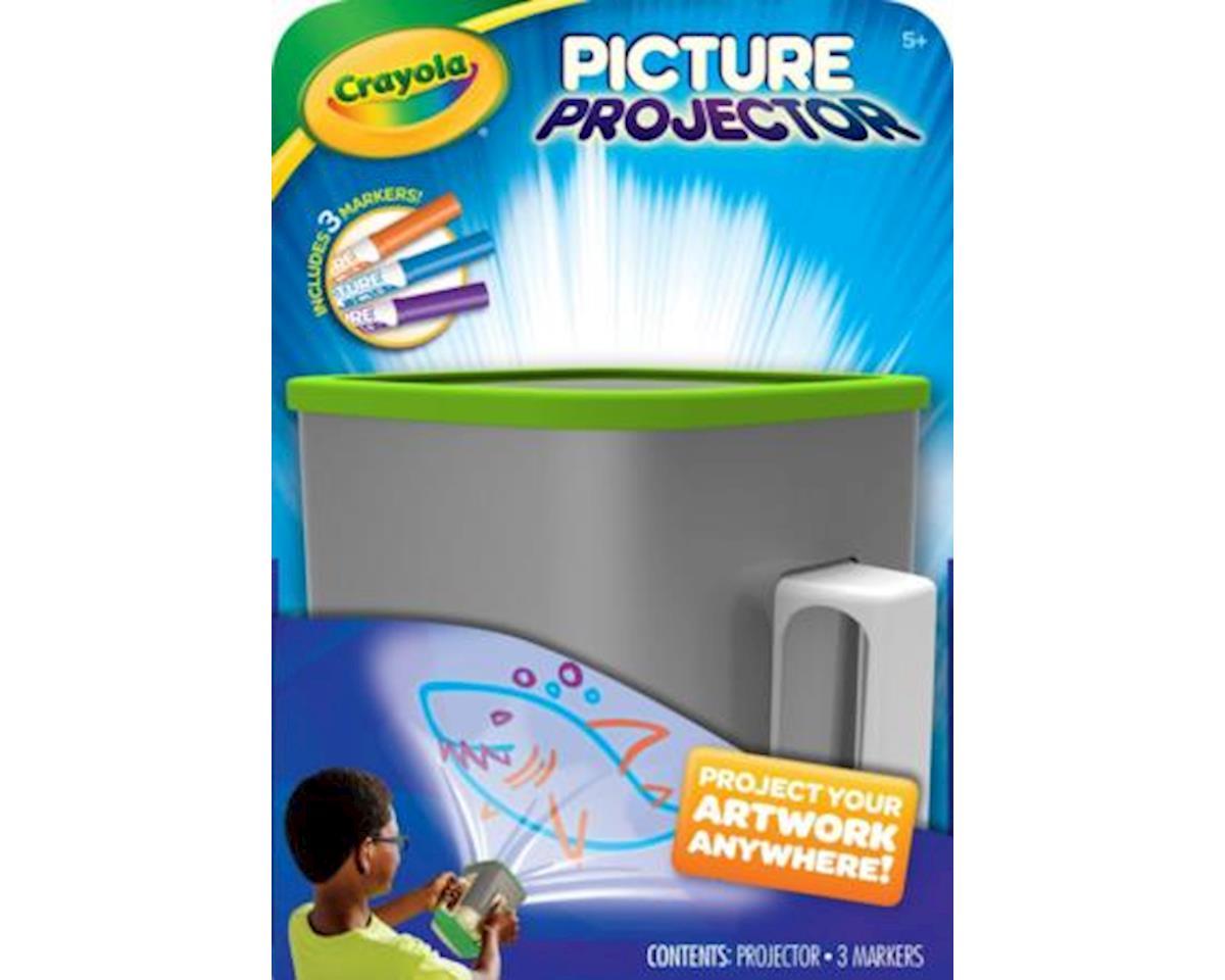 Crayola Picture Projector, Night Light Kids Flashlight