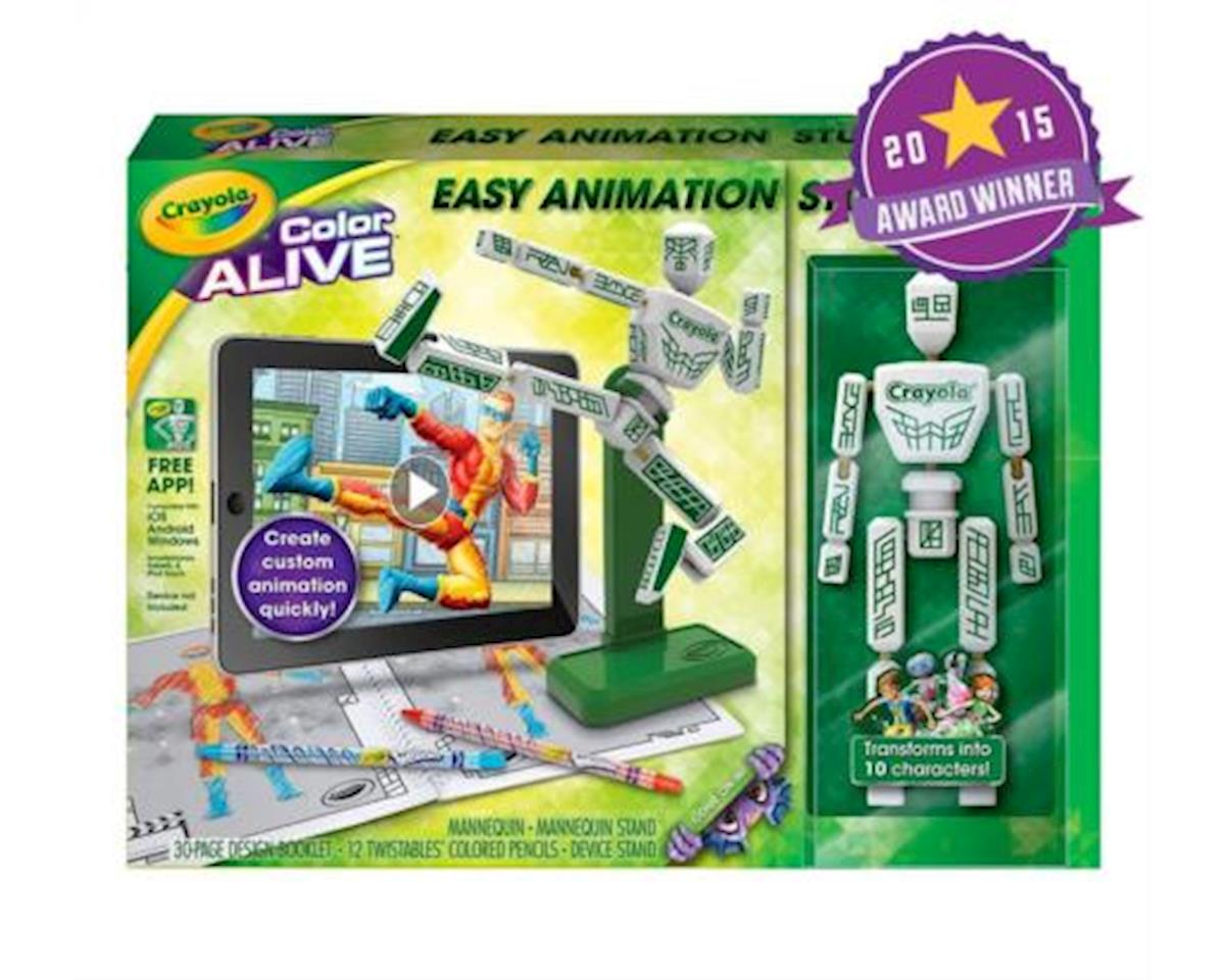 Crayola Llc Crayola Color Alive Easy Animation Studio